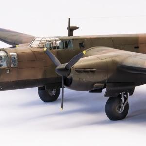 Whitley Mk V. v měřítku 1/72