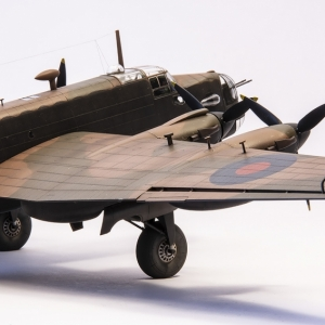 H.P. Halifax Mk.II/Ia v měřítku 1/72