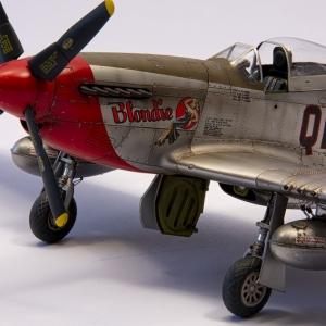 P-51D Mustang v měřítku 1/48