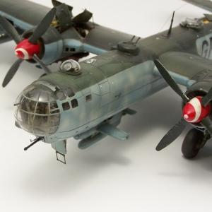 He 177 A6R2 Greif v měřítku 1/72
