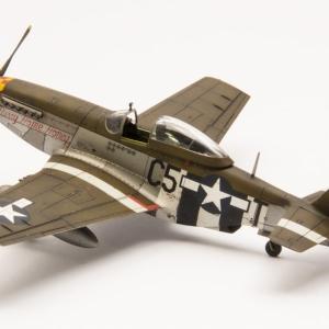 P-51D Mustang v měřítku 1/72