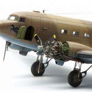 Dakota Mk.III v měřítku 1/72